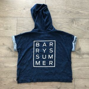 Barry's Bootcamp Terry Cloth Sweater